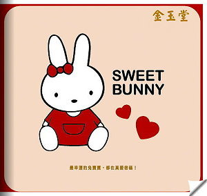 2011年真愛密碼 寶貝兔 型錄